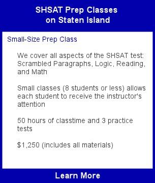 SHSAT Class Staten Island