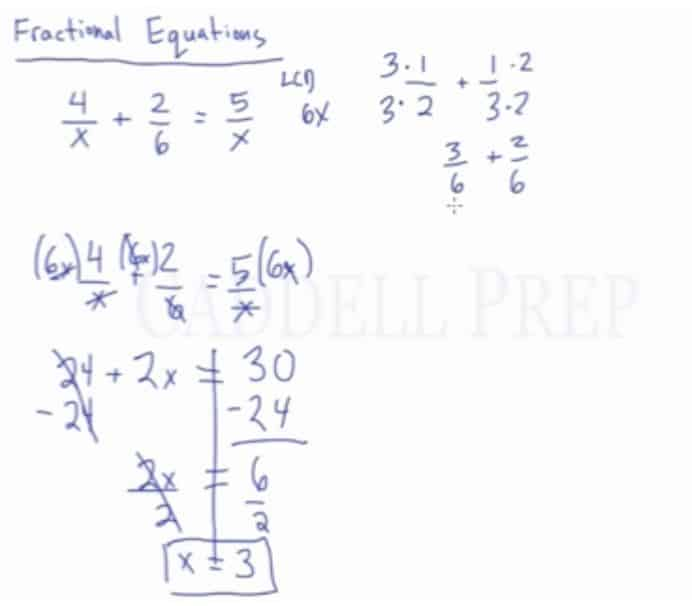 Fractional Equations