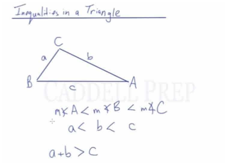Inequalities In A Triangle