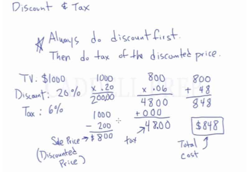 Discount & Tax 3
