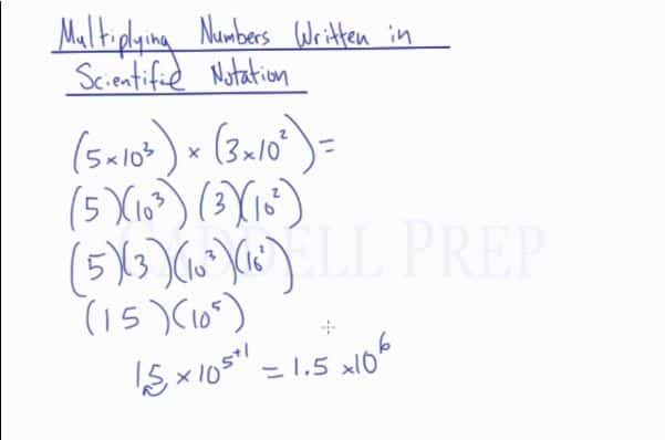 Scientific Notation 2