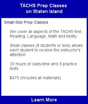 TACHS Class Staten on Island
