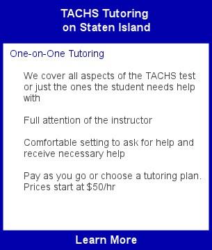 Tachs Test Prep Staten Island