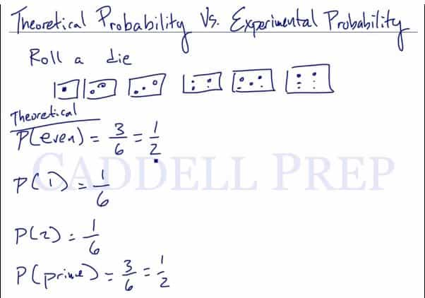Theoretical Vs. Experimental Probability