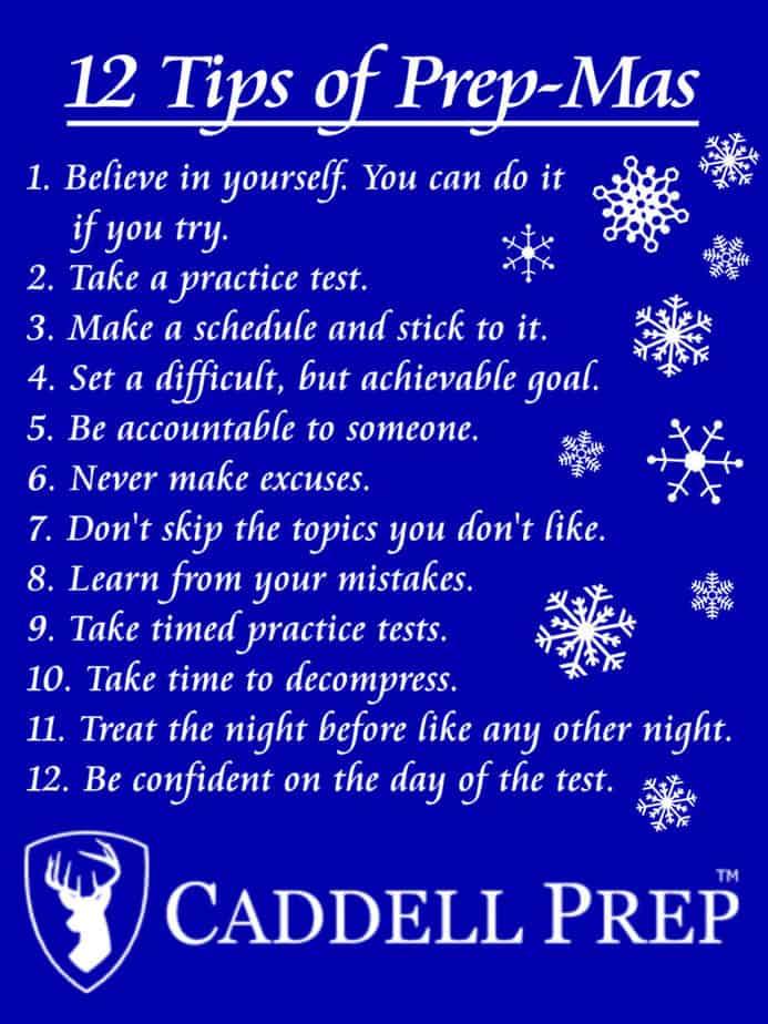 12 Tips of Pre-Mas