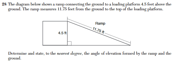 Geometry Regents Sample Part II Question