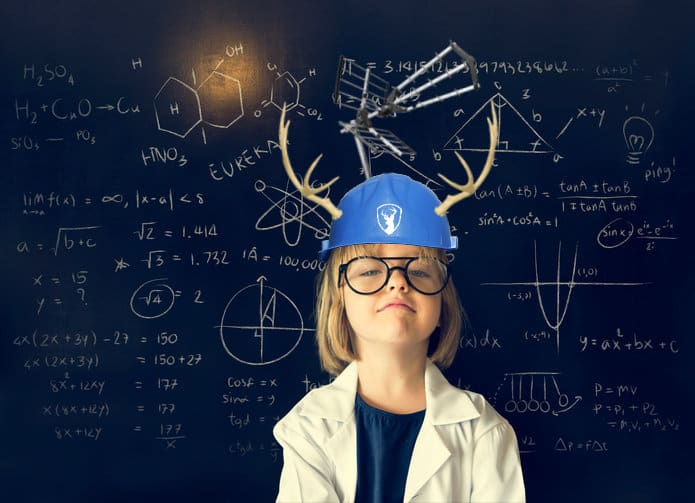 Young Genius with Genius Hat