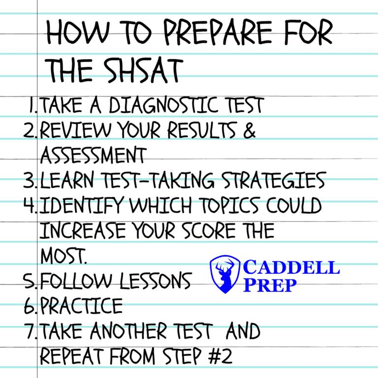 Steps to Prepare for the SHSAT